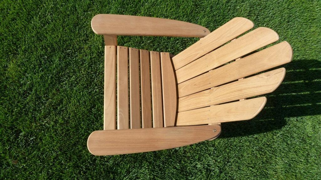 fauteuil adirondack la hutte mobilier. Black Bedroom Furniture Sets. Home Design Ideas