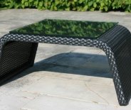 Table d'appoint Eden (fibre anthracite)