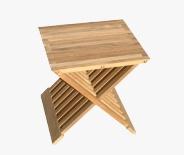 Table d'appoint La Hutte