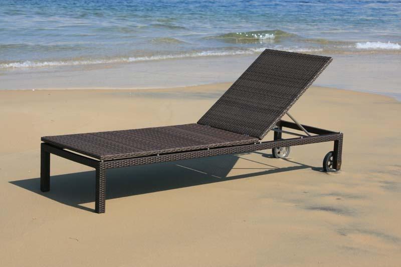 Lounger atlantic fibre la hutte mobilier for Transats chaises longues