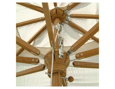 toile parasol parasol mural avec mt en acier toile murale cru polyester collection with toile. Black Bedroom Furniture Sets. Home Design Ideas